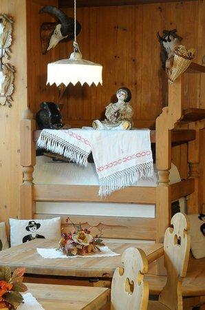 Hotel Barance: particolare stube