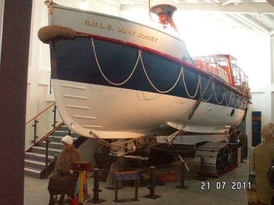 Newbiggin Maritime Centre: The Mary Joicey Lifeboat.
