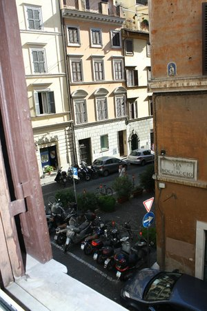 Hotel Boccaccio: View from my room
