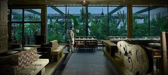 The Jungle : Indoor dining