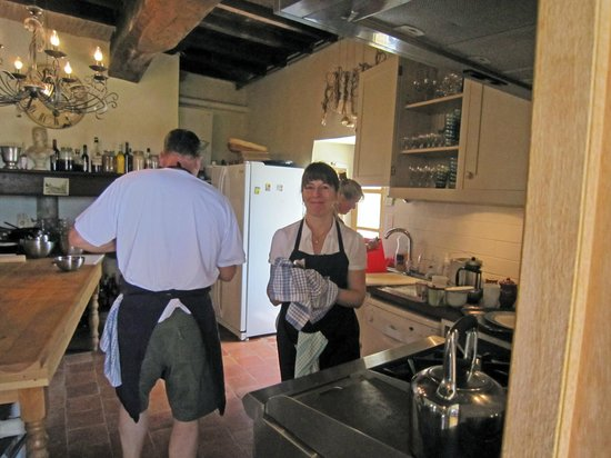 The Gascony French Cookery School : hard at work