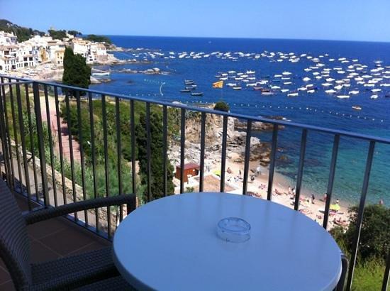Hotel Mediterrani: chbre 2eme etage vue mer balcon