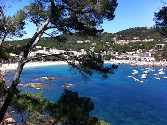 Hotel Mediterrani: calanques prés de Calella