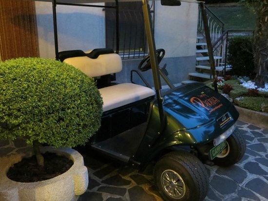Golf car  del  Campeggio Pizzeria Ristorante Paradiso