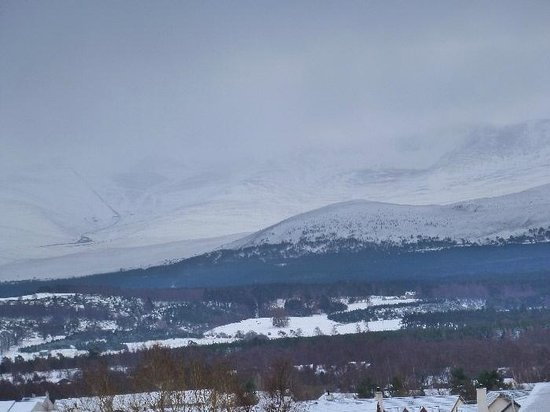 Aviemore Hillside Lodge: View from the Cairngorm Room