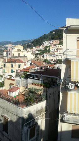 Hotel Torre di Milo: view from the hotel