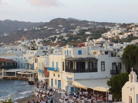 how to get to mykonos from italy