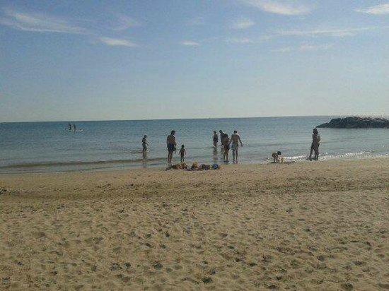 Hotel International: Spiaggia