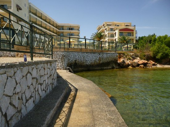 Aquamarina Hotel: View of both buildings of the hotel