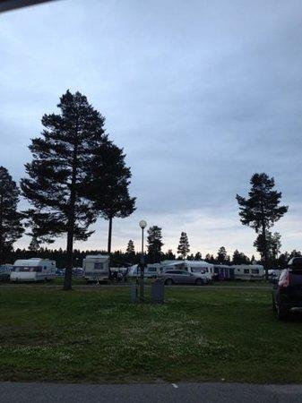 Pite Havsbad: Caravan campsite