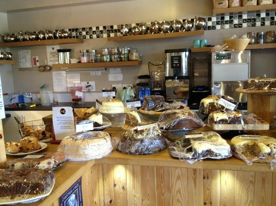 Mountain Cafe: The cake buffet