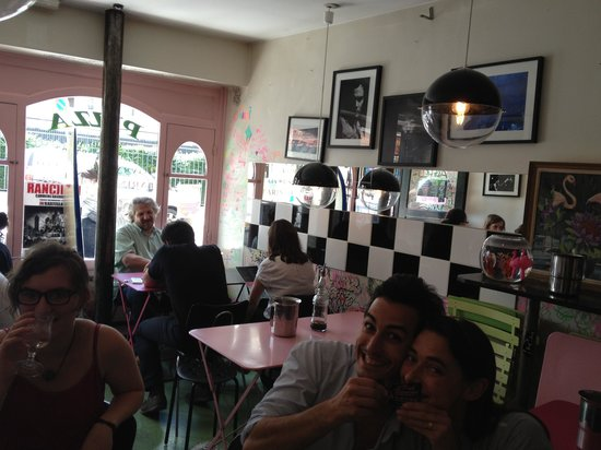 Photo of Italian Restaurant Pink Flamingo at 105 Rue Vieille Du Temple, Paris 75003, France