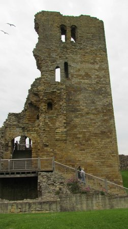 Dolphin Guesthouse: The keep Scarborough castle