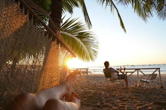 La Palapa: Heerlijk 10 meter van je kamer genieten van de zonsondergang