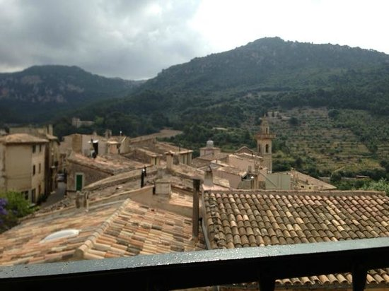 Es Petit Hotel de Valldemossa: Vistas desde la habitación