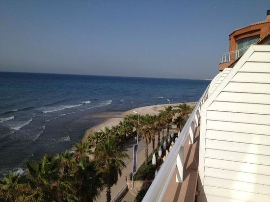 Sunway Playa Golf Hotel & Spa Sitges: View from Conference facilities on fifth floor