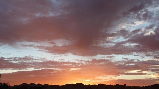 Down to Erth B &B: Sunset