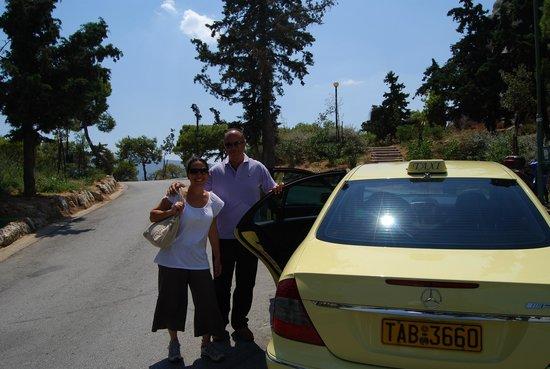 Taxi Tours - Jordan Daioglou: Nikos our wonderful tour guide