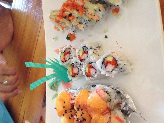 Sushi Jacko: Same rolls