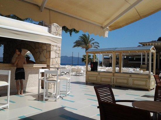 Salmakis Resort & Spa: pool bar