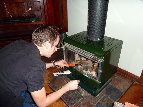 Escarpment Retreat: Preparing the fire