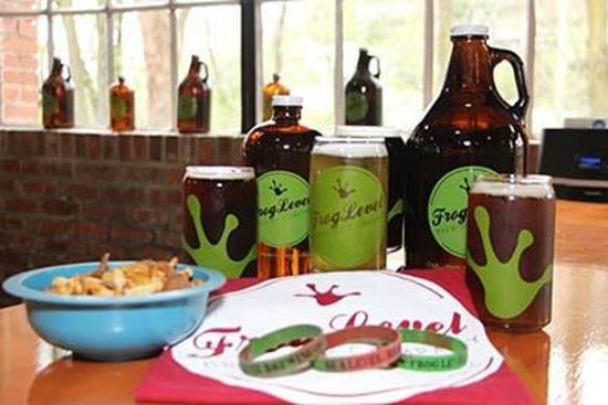 Frog Level Brewing: Products