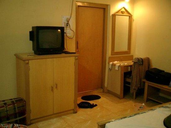 Mamta Hotel: 部屋の備品です。
