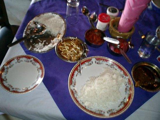 Mamta Hotel: Mamtaレストランの食事です。