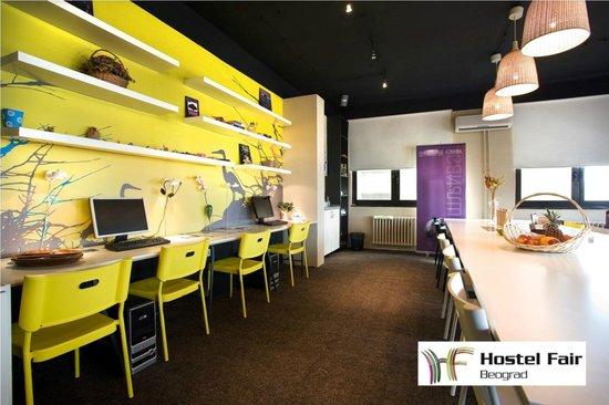 Hostel Fair: Internet corner