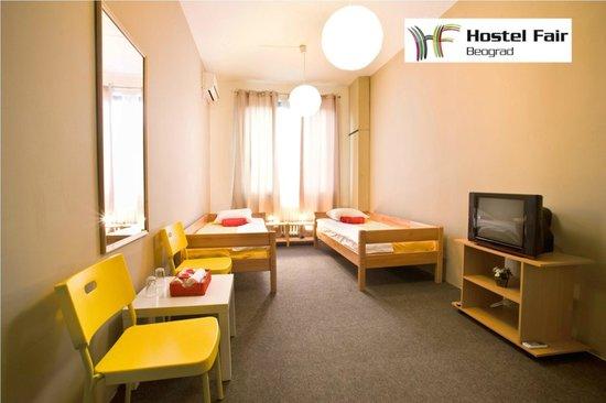 Hostel Fair: Twin room
