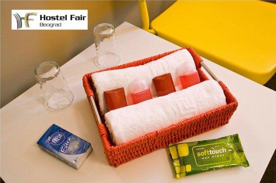 Hostel Fair: Welcome set