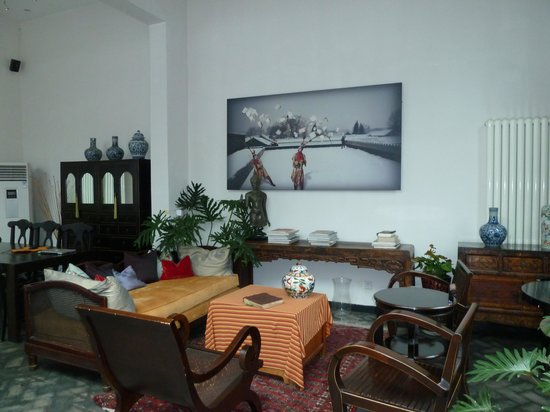 Hotel Cote Cour Beijing : Lounge