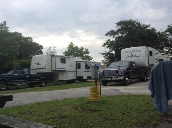 Lumberton I-95 KOA RV Park : Sites