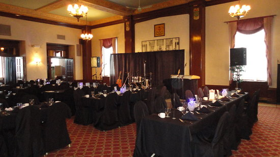 Rodd Charlottetown: Province Room set for reception