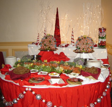Rodd Charlottetown: Christmas food station for reception
