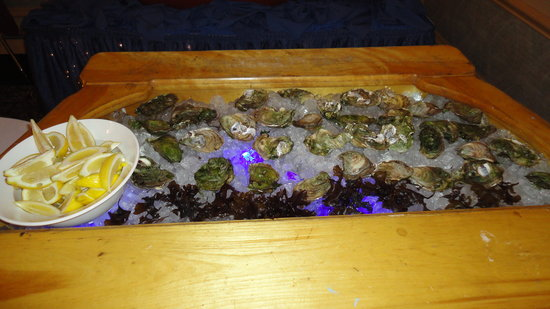 Rodd Charlottetown: Oyster display
