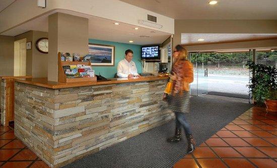 Hotel Patagonia: Recepción