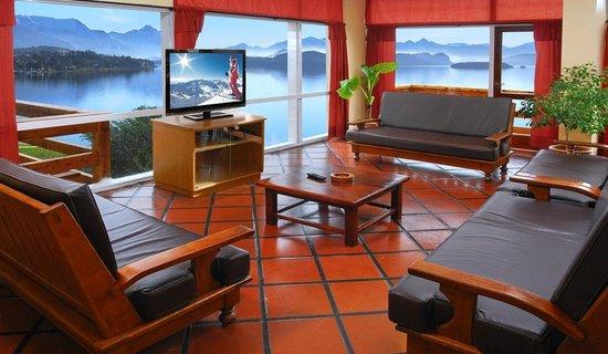 Hotel Patagonia: Sala de TV