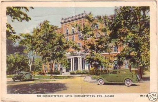 Rodd Charlottetown: Old postcard