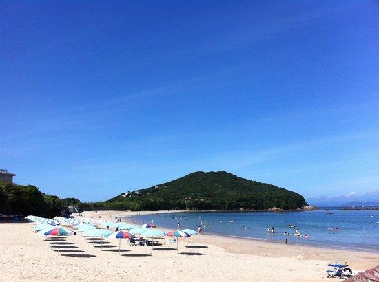 Shima, Ιαπωνία: 御座白浜海水浴場