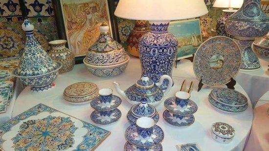 Cezayir: Artisanat Algérien,céramiques Algéroises