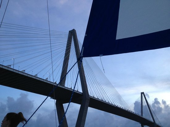 Charleston Sailing Adventures Prevailing Winds: Happy 4th of July in Chas Harbor