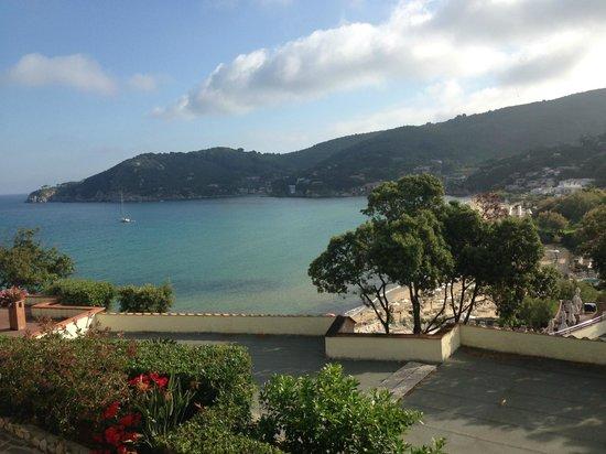 Hotel Hermitage -- Portoferraio: Vista dalla camera