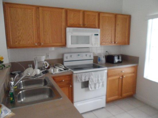 Hapimag Resort Orlando: Cozinha totalmente equipada.