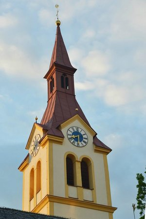 Bon Alpina : The Church As Seen From The Window