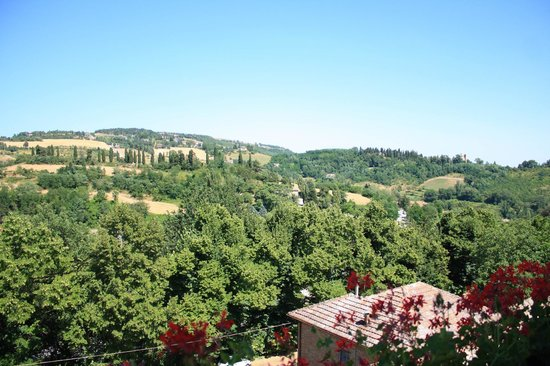 Hotel Bonconte: View from Suite del Duca
