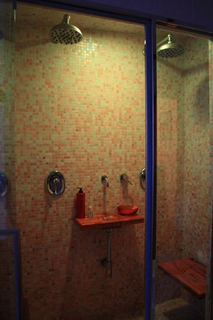 Hotel Bonconte: Shower