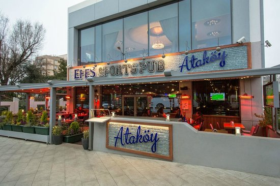 Efes Sports Pub : We're at Ataköy