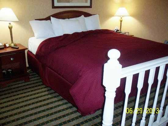 Clarion Hotel Palmer Inn: King Size Bed