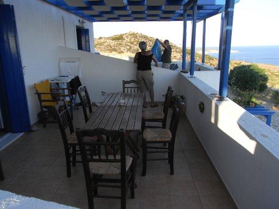 Vigla Studios: i terrazzi